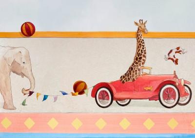 Children's Murals on Wallpaper