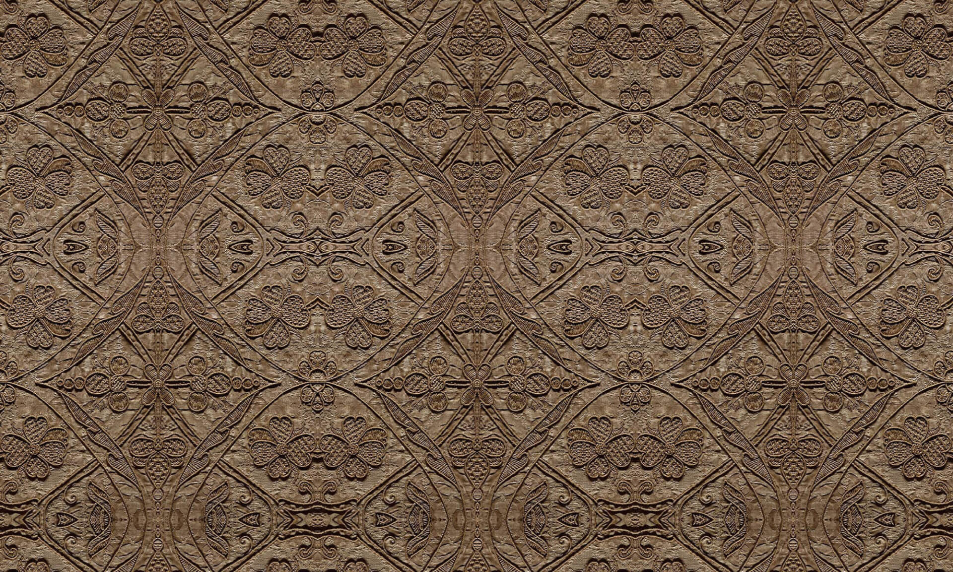Silk Embroidered Linen (TE9385) Doug Garrabrants