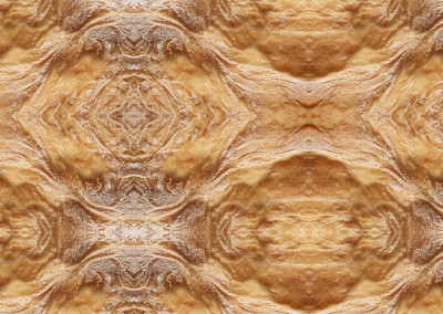 Southwestern Spun (Bread-2) : Wallpaper pattern created from a close up photo of a fresh cooked loaf of bread. © Doug Garrabrants 2011