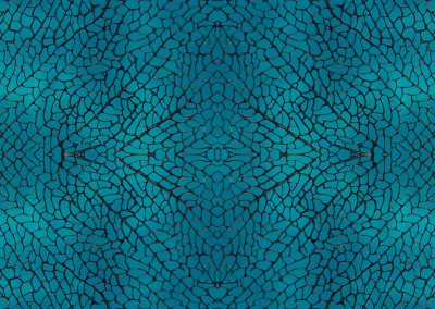 "Nature's Lace (NA0859-B)-Detail : This lacey design was created from a sea fan. The max. repeat size for this version is 24"". Pictured here on a water patterned background. © 2014 Doug Garrabrants"