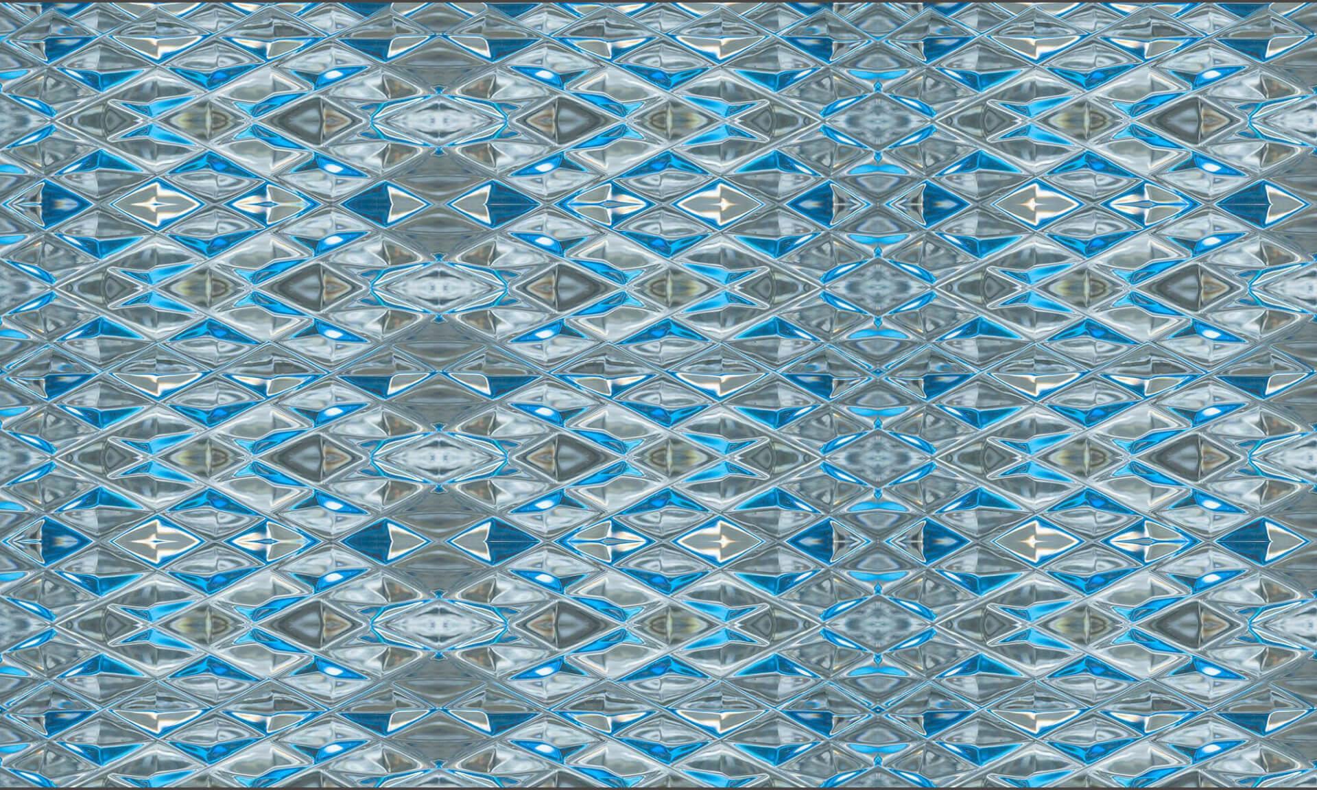 Diamond Blue Glass (DE9054) Doug Garrabrants