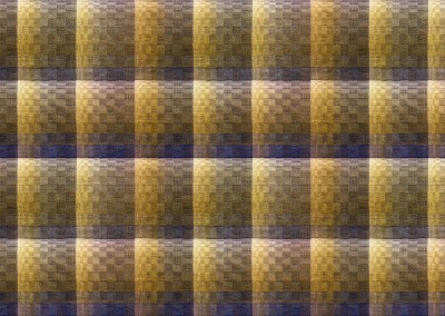 "Escher (DE9494) : For the hand woven look of an upholstered wall, Escher come in several color ways. The repeat is 28"" x 19"" with each rectangle approximately 7"" x 9.5"". © 2014 Doug Garrabrants"