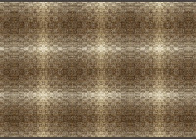 "Escher Play-1 (TE9492) : For the hand woven look of an upholstered wall, Escher come in several color ways. The repeat is 12.75"" x 10.25"" - Sepia. © 2014 Doug Garrabrants"