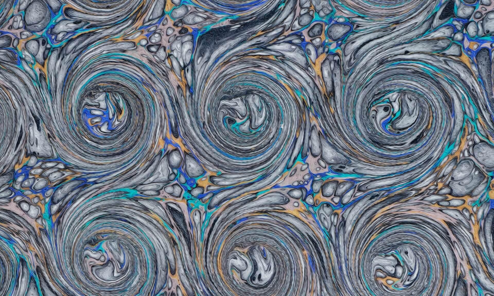 Ink Swirl (DE4690) Inverted Doug Garrabrants