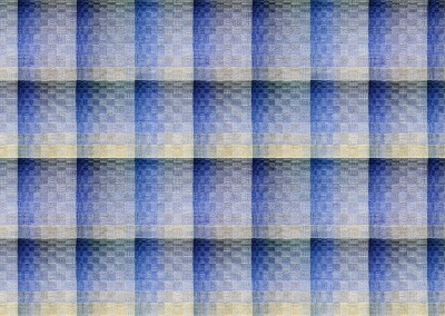 "Escher (DE9494-INV) : For the hand woven look of an upholstered wall, Escher come in several color ways. The repeat is 28"" x 19"" with each rectangle approximately 7"" x 9.5"". © 2014 Doug Garrabrants"