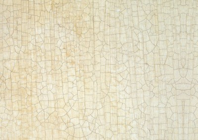 "Eggshell Crackle (DE1983)-Detail : This crackle finish wallpaper is created from a sample with 25 years of patina. We like it best with a 12"" repeat.  © 1986 DOUG GARRABRANTS"