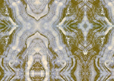"Agate Inverted (SB1492)-Detail : Hand painted agate as a wallpaper pattern. 12.75"" x 12.7 repeat. © 2005 DOUG GARRABRANTS"
