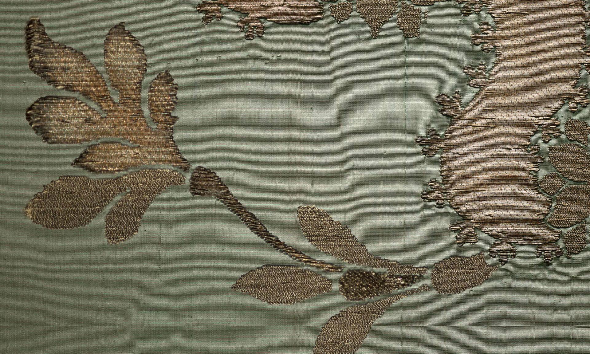 Lidia Silk Brocade Doug Garrabrants