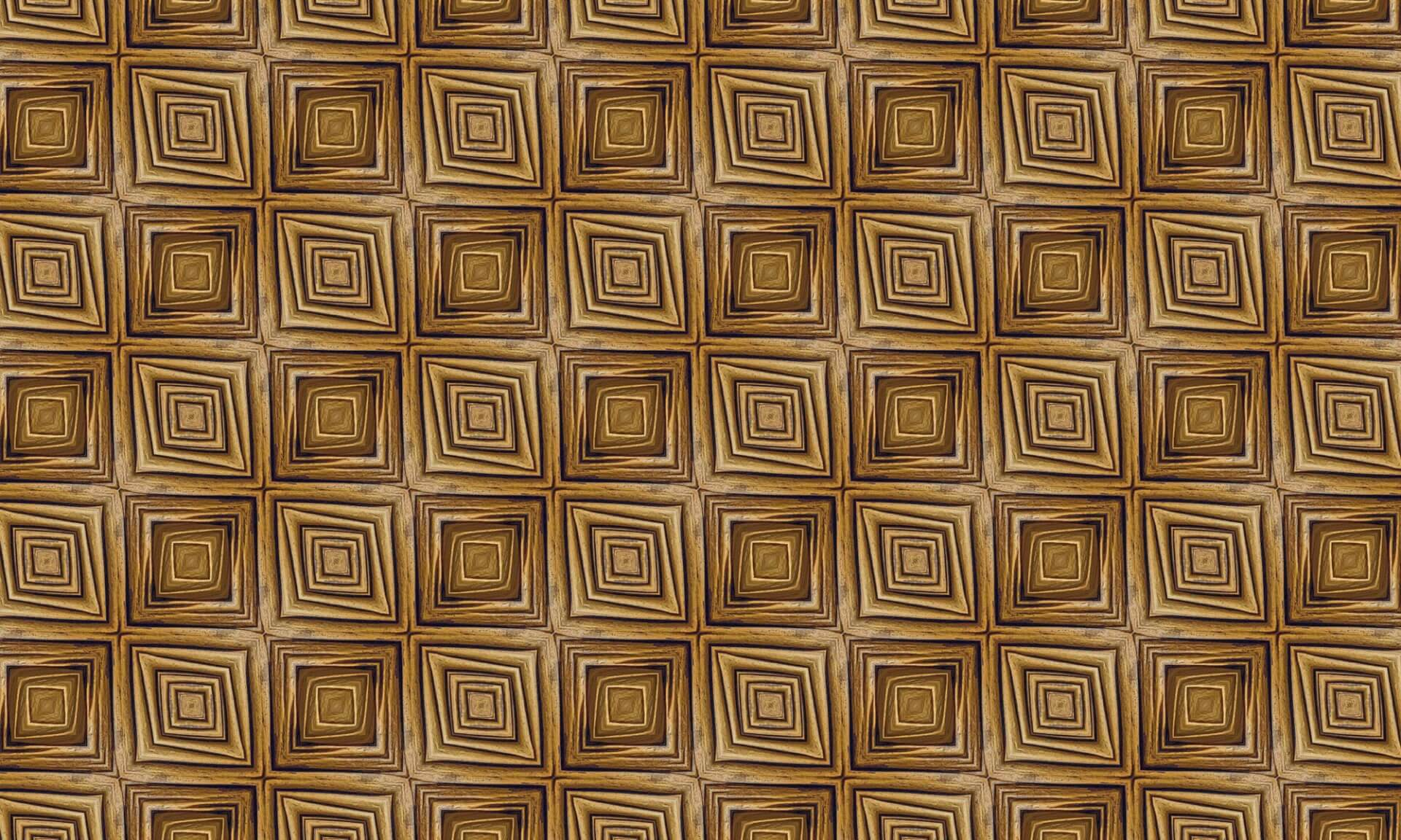 Wacky Wood Paneling (DE0594)-Square Doug Garrabrants