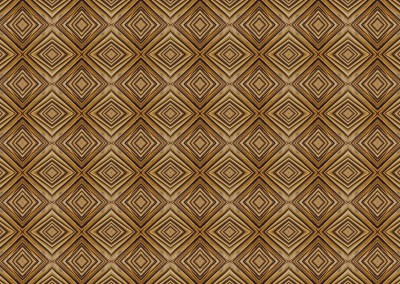 "Wacky Wood Paneling (DE0594)-Diamond : Wood Paneling in the style of a Tim Burton movie. Available in squares, diamonds or rectangles up to 9.5"" per panel.  © 2015 DOUG GARRABRANTS"