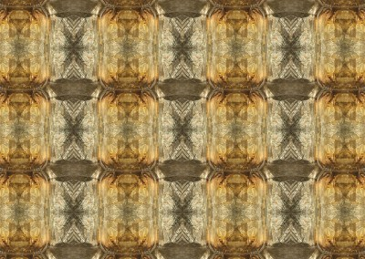 "Amber Quartz (DE9670) : This pattern was created from an amber quartz stone. The repeat id 15.25"" x 11.25"" Max. © 2014 Doug Garrabrants"