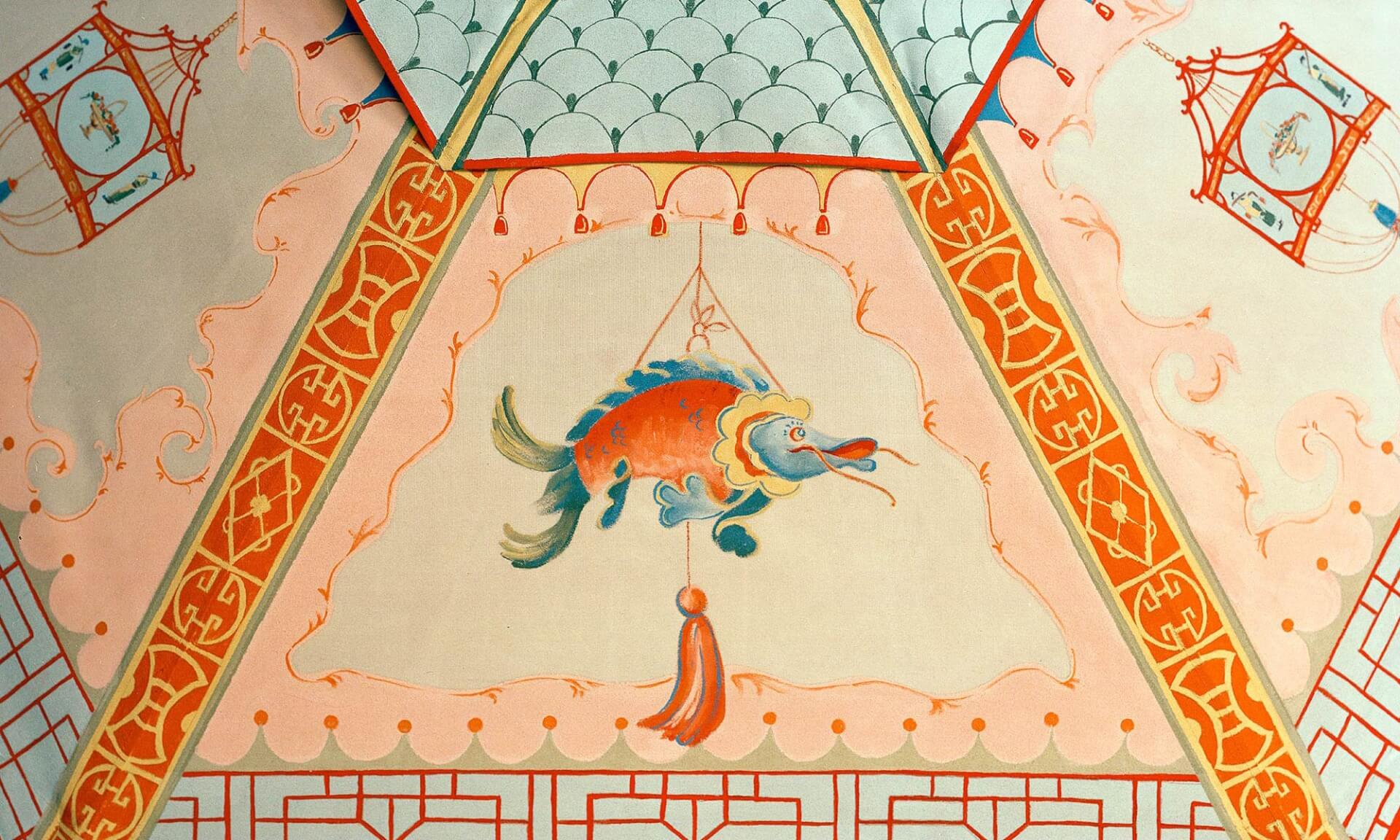 Chinoiserie_Umbrella-Fish Lena Fransioli & Brooke Sheldon