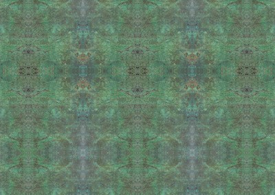 "Bronze Cannon (MW9742) : This verdigris wallcovering was created from the barrel of an antique bronze cannon. The repeat is 45"" x 67"". © 2015 DOUG GARRABRANTS"