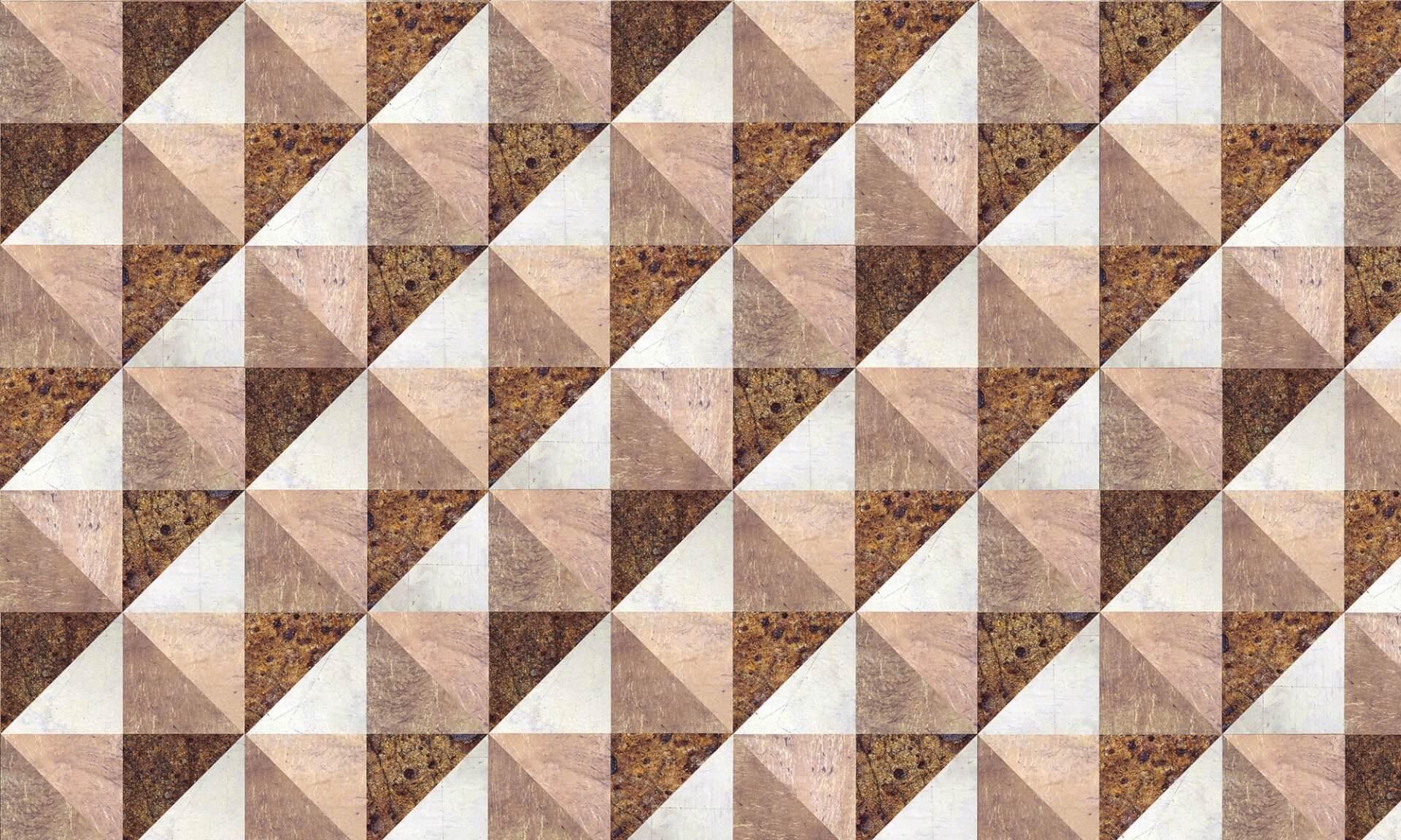 3-D Metal Leaf Pyramid Doug Garrabrants