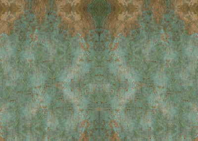 Bronze Cannon Background (MW9735) : Wallpaper pattern of antique verdigris bronze with a patina. This is the background from an interlaced pattern.  © 2015 Doug Garrabrants
