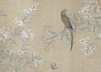 "Gracyn Panel : Chinoiserie panel created for Gracyn Whitman Interior Design. Max. size 72"" x 49"".  © 2012 Doug Garrabrants"