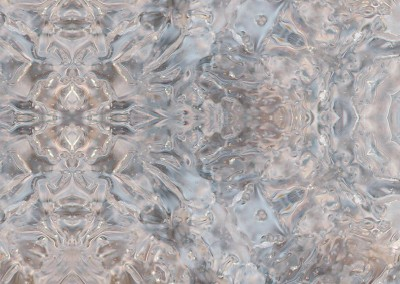 "Ice Princess (NA3272-Poly)-Detail :  Ice on the Ipswitch River shaped into a pattern of polygons.  Repeat 32.5"" x 36"". Repeat 25.75"" x 16.4"". © 2013 Doug Garrabrants"
