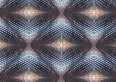 "Mackerel Fin (BA0709-A) : Wallpaper Pattern created from a Mackerel's fin. Patern available in various sizes & styles. 14.75""x14.75"" max. © Doug Garrabrants 2014"