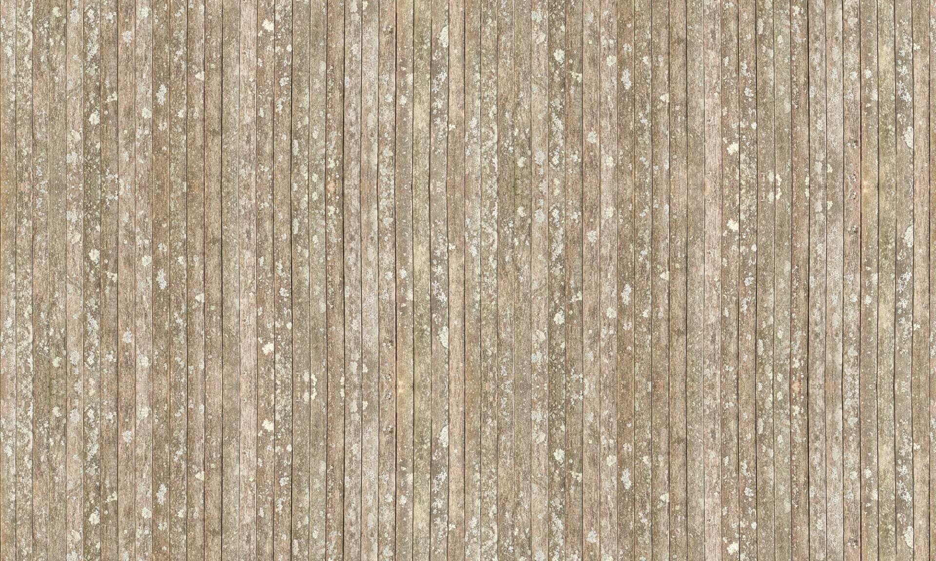 Rustic (Slats or teak and lichen)