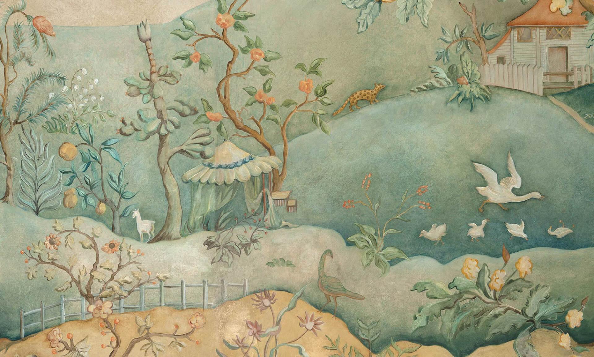 Ozz-Chinois - Detail Tent Lena Fransioli & Brooke Sheldon