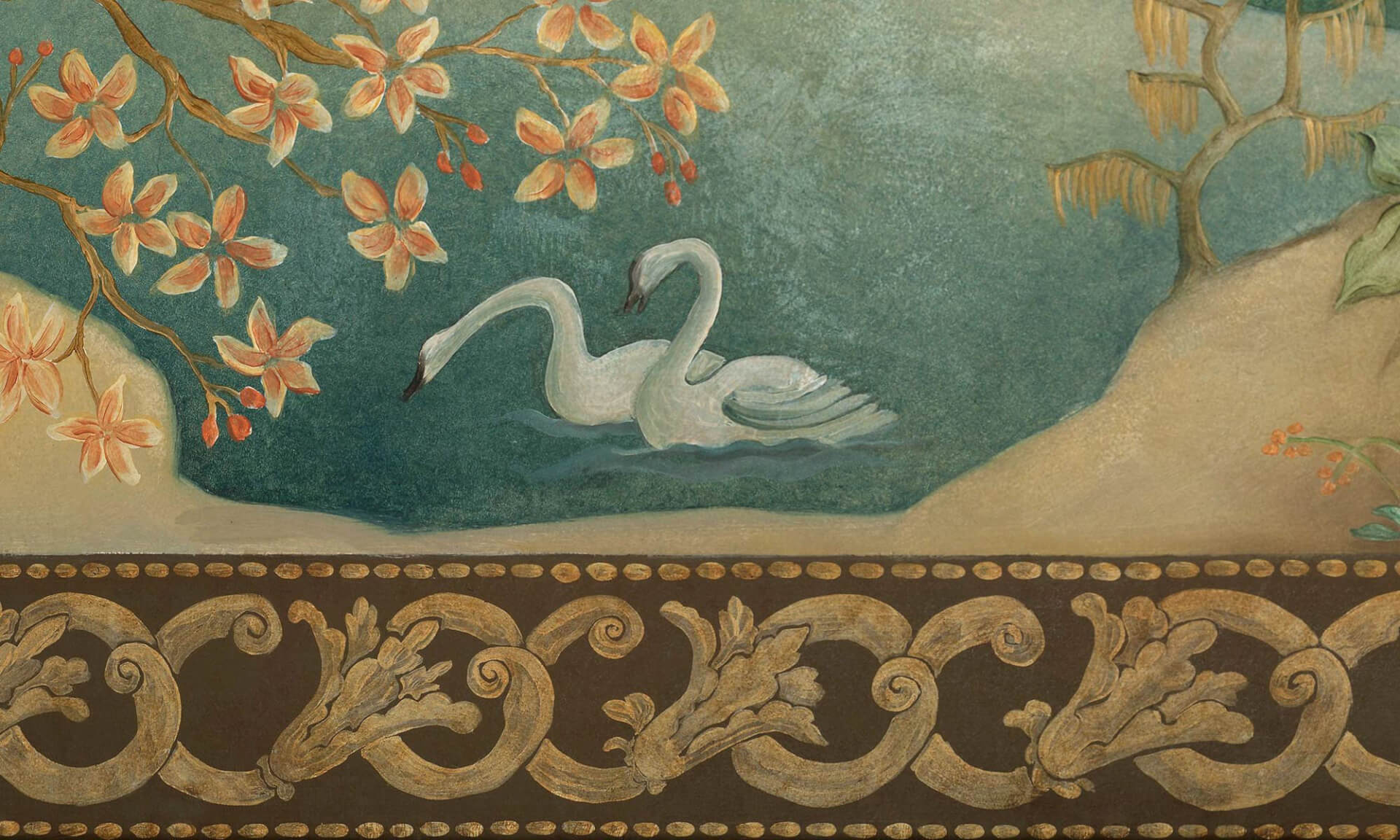 Ozz-Chinois - Detail Swan Lena Fransioli & Brooke Sheldon