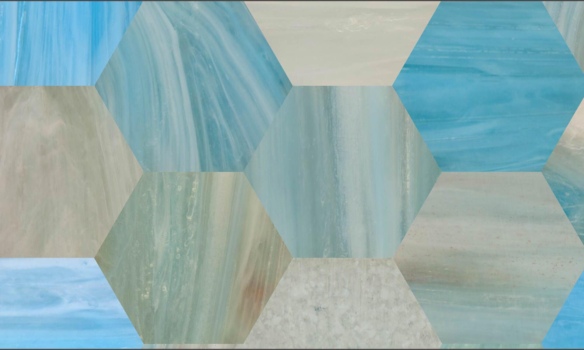 "Glass Tile (DE2014) ""Octagon"" Doug Garrabrants"