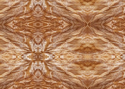 Southwestern Spun (Bread-5) : Wallpaper pattern created from a close up photo of a fresh cooked loaf of bread. © Doug Garrabrants 2011