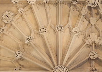 Cathedral Ceiling (Detail) : Raise the ceiling in your library or foyer and enrich your house with a feeling of history. © 2014 Doug Garrabrants