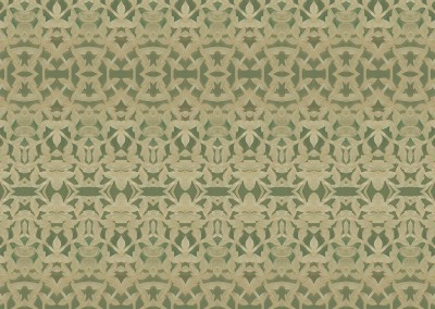 "Jade (ST9975) : This wall covering pattern is made up of a latice of carved jade. The repeat is 13.5"" c 50"" at 100%. © 2014 DOUG GARRABRANTS"