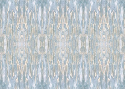 "Watermark (NA0561) : Water can create some dazeling patterns and colors. With ""watermark"" I use reflections on water to create the patterns and colors of silk in a large scale."