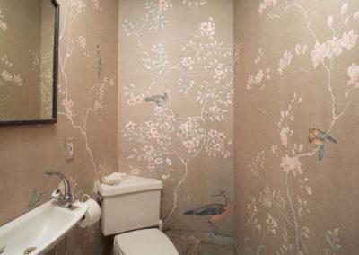 Chinoiserie Powder Room