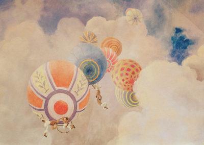 Balloons & Acrobats (Detail 2)