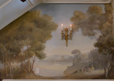 Foyer and Dining Mural (Comm Ave)