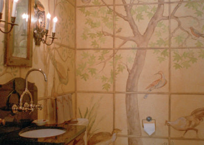 Montecito, CA Powder Room