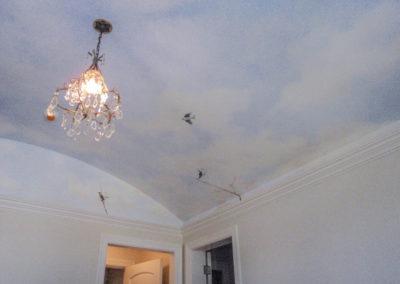 Sky Ceiling with birds - Cebula Design.