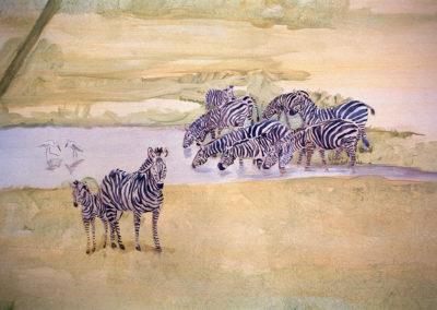 Jumgle Mural / Animals