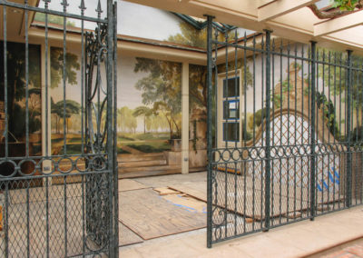 Copley Spa - Outside Gate