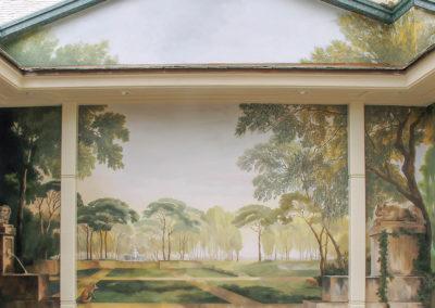 Copley Spa - Back Wall