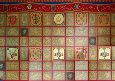 Jack's Heraldry Wall