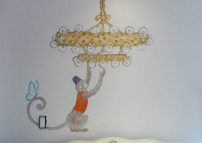 Monkey Changes Light Bulb