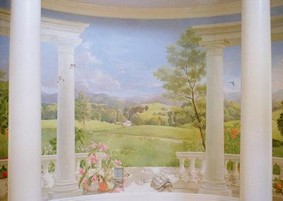 Trompe loeil Mural