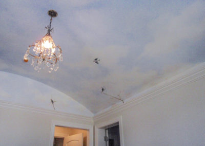 Sky Ceiling with birds - Cebula Design.
