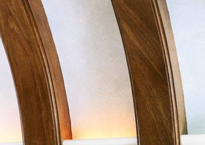 Mahogany Beams - Detail