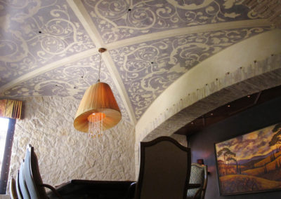 Dining Filigree Ceiling