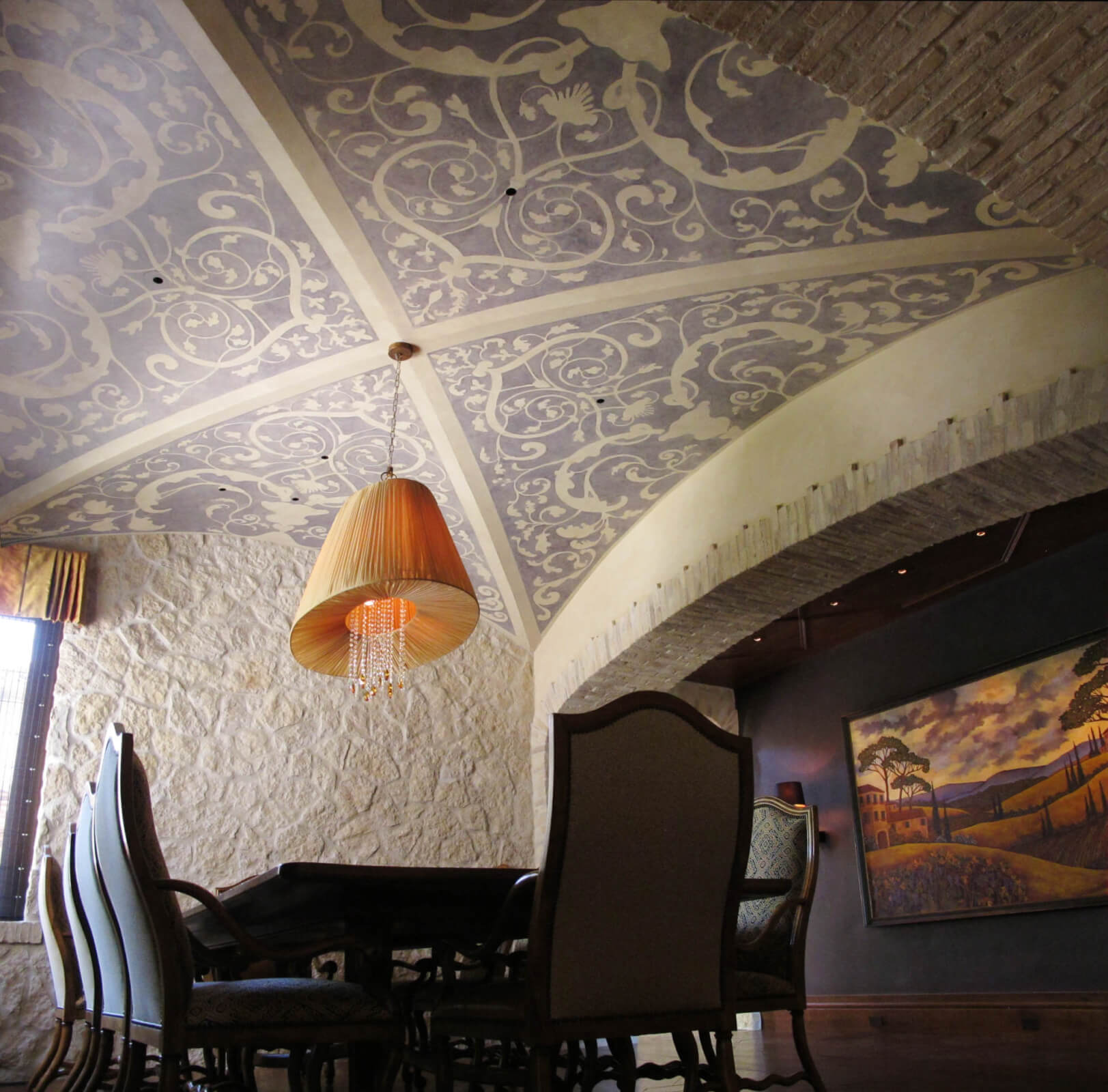 Mural Ceilings Zoe Design