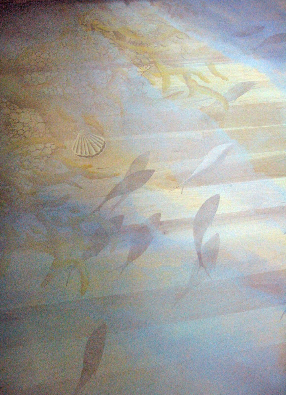 Floors Zoe Design - Ocean floor painting