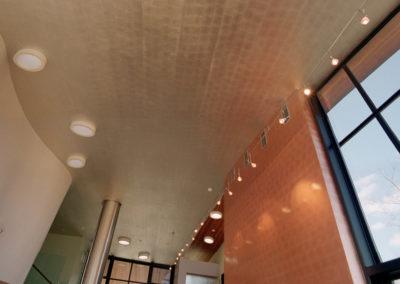 Copper Wall & Alumnium Ceiling