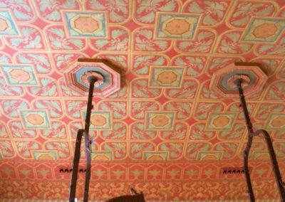 Billards Room Stencil