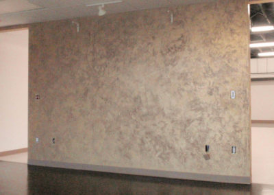 Venetian Plaster with Gold Wax