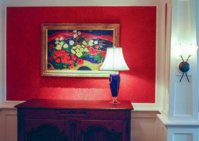 Red Venetian Plaster